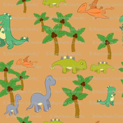 Dinosaurs in the Wild Medium Scale