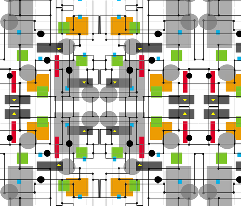 MAP1 fabric by retroretro on Spoonflower - custom fabric