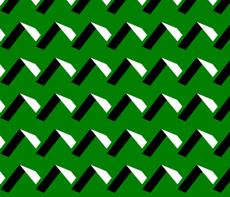ZIG ZAG fabric by retroretro on Spoonflower - custom fabric