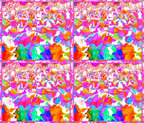 Rainbow Lake in Four Fat Quarters fabric by anniedeb on Spoonflower - custom fabric