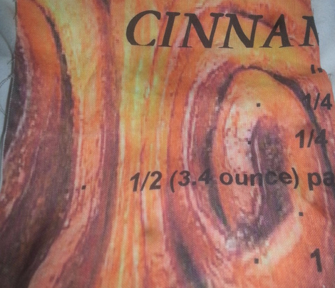 GRANDMA'S CINNAMON BUNS TEA TOWEL