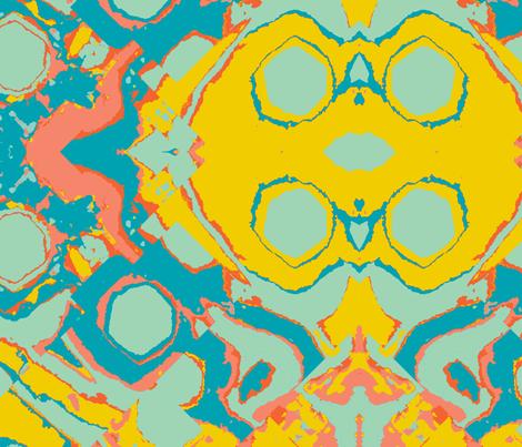 My Spiritual Home, large fabric by susaninparis on Spoonflower - custom fabric