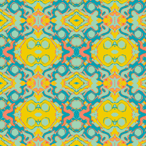 My Spiritual Home, small fabric by susaninparis on Spoonflower - custom fabric