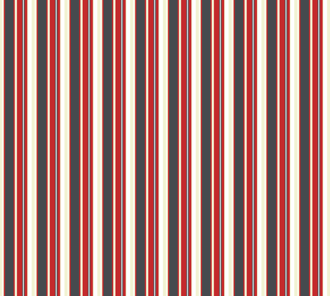 Banker Stripes fabric by brainsarepretty on Spoonflower - custom fabric