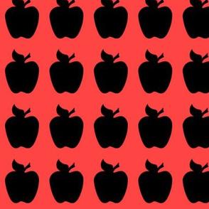 apple black red