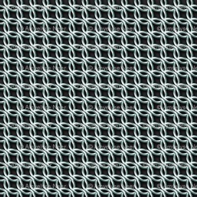 Chain Mail Costume Fabric