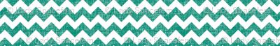 linen chevrons - teal green