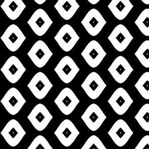 Diamond Girl (black & white)