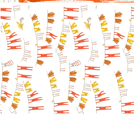 snow_white_dishtowels_H fabric by heatherross on Spoonflower - custom fabric