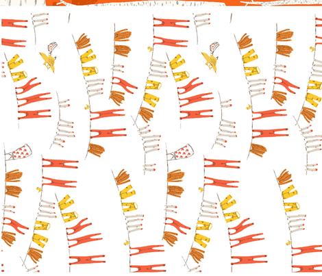 snow_white_dishtowels_S fabric by heatherross on Spoonflower - custom fabric