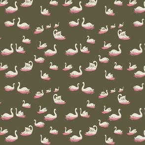 fabric_bound_sketchbook_cover_swan_lake_mud