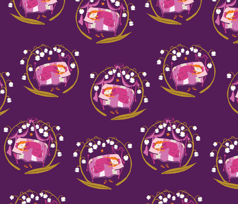 sleeping_beauty fabric by heatherross on Spoonflower - custom fabric