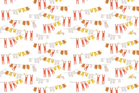snow_white_laundry fabric by heatherross on Spoonflower - custom fabric