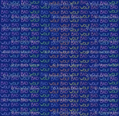 BW (blue/rainbow)