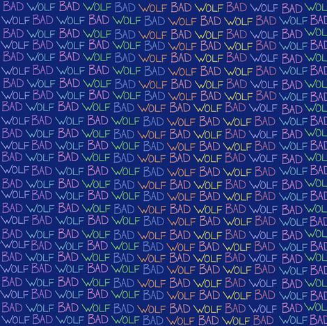 BW (blue/rainbow) fabric by amanda_lovely on Spoonflower - custom fabric