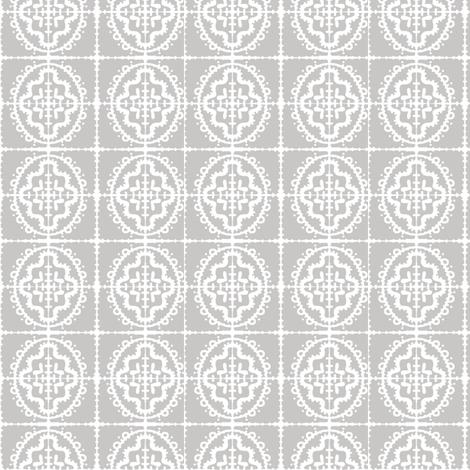 Bumpy Wonky Tile (dove grey) fabric by pattyryboltdesigns on Spoonflower - custom fabric