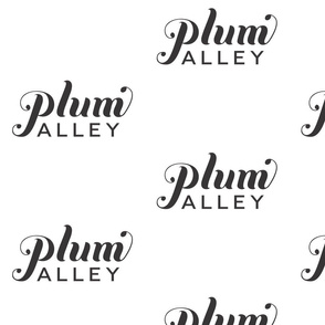 6in wide Plum Alley