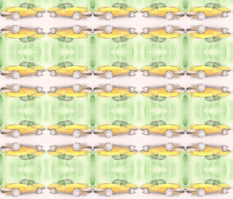 triumph in watercolor fabric by borealiscolor on Spoonflower - custom fabric
