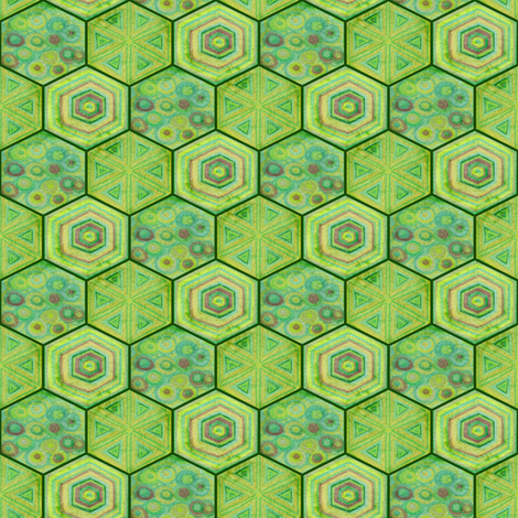 Turtle Scale Costume fabric by amyelyse on Spoonflower - custom fabric