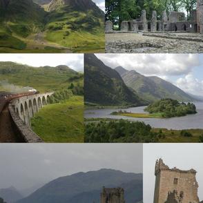 Scotland Collage