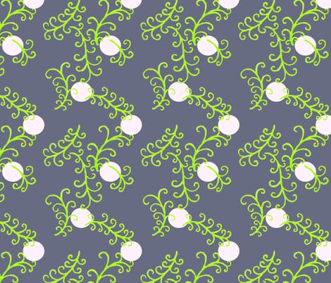 Moonlight fronds fabric by keweenawchris on Spoonflower - custom fabric