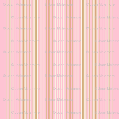Apple Blossom Pink Stripe