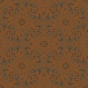 Batik (Burnt Orange)