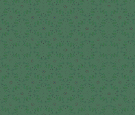 Batik (Spring Green) fabric by david_kent_collections on Spoonflower - custom fabric
