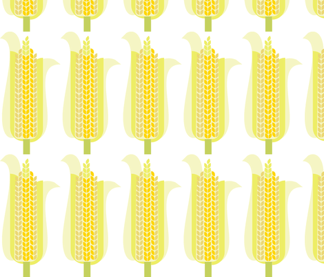 mod-corn-600 fabric by wren_leyland on Spoonflower - custom fabric