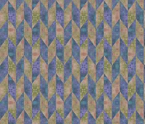 Chevrons fabric by feebeedee on Spoonflower - custom fabric