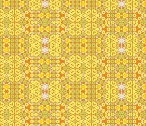 Mod Sunflowerseed Autumn  fabric by wren_leyland on Spoonflower - custom fabric