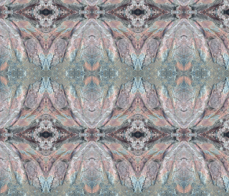 Rainbow Rock fabric by ghennah on Spoonflower - custom fabric