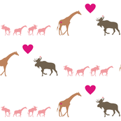 Giraffe Moose Love + Kids