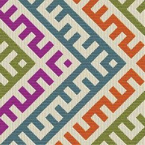 Teocalli Zigzag