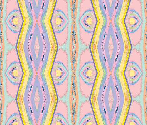 In the Pink, variation 2 fabric by susaninparis on Spoonflower - custom fabric