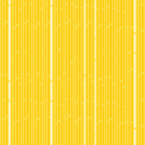Sunshine Interrupted Stripes fabric by wildnotions on Spoonflower - custom fabric