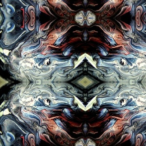 DRE DESIGNS CHROMATIC ABSTRACT 168