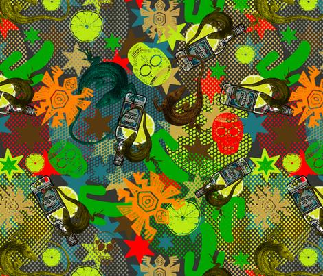 oooh tequila sundowner! fabric by susiprint on Spoonflower - custom fabric
