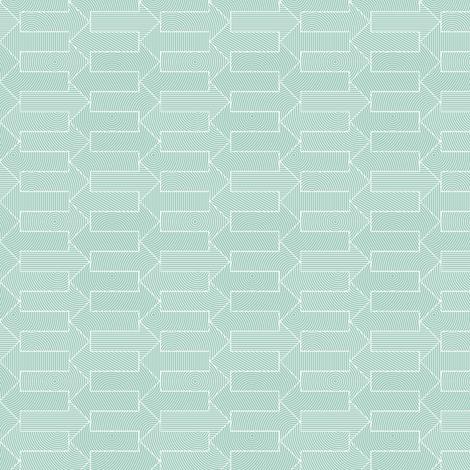 small mint blue arrows fabric by weavingmajor on Spoonflower - custom fabric