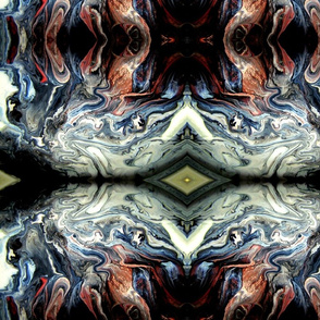 DRE DESIGNS CHROMATIC ABSTRACT 169