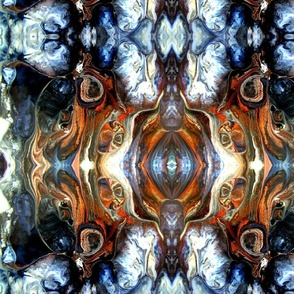 DRE DESIGNS CHROMATIC ABSTRACT 170