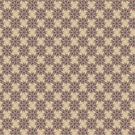 Pinwheels - Cream fabric by maplewooddesignstudio on Spoonflower - custom fabric