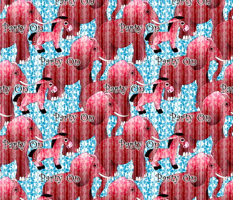 Party On fabric by glimmericks on Spoonflower - custom fabric