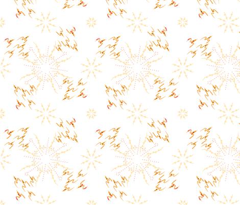 circling sun flock fabric by mojiarts on Spoonflower - custom fabric