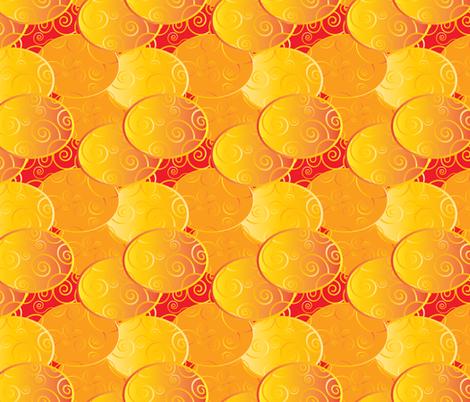 Klimt 6 fabric by kociara on Spoonflower - custom fabric
