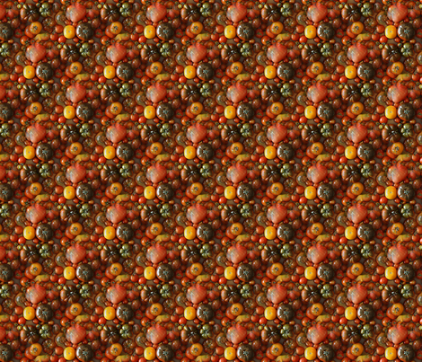 Heirloom Tomatoes fabric by arts_and_herbs on Spoonflower - custom fabric