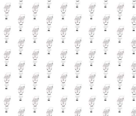 I know your type fabric by raebies on Spoonflower - custom fabric