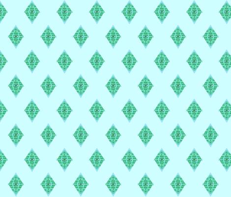 MAYAN EYES fabric by bluevelvet on Spoonflower - custom fabric