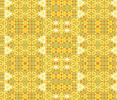 mod_autumn-rust-small fabric by wren_leyland on Spoonflower - custom fabric