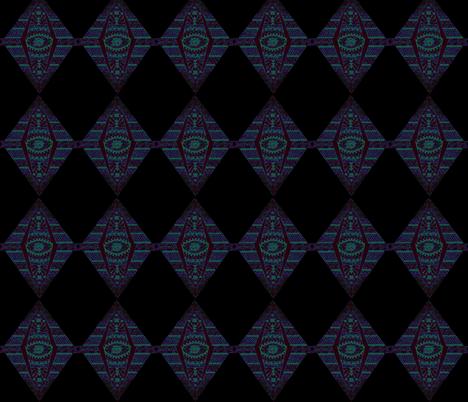 MAYAN DIAMONDS fabric by bluevelvet on Spoonflower - custom fabric